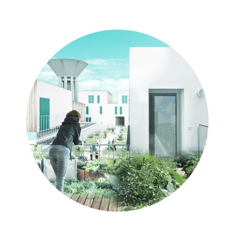 Conoce el proyecto peruano ganador del concurso Europan 14: Ciudades Productivas en Francia, Cortesía de YDEA