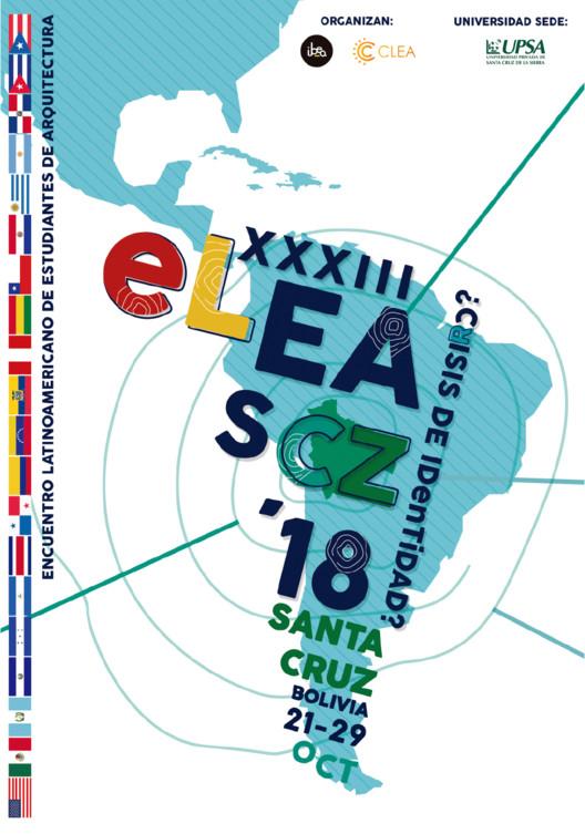 Asiste al XXXIII Encuentro Latinoamericano de Estudiantes de Arquitectura en Bolivia, XXXIII ELEA. Image Cortesía de CLEA