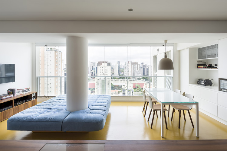Apartamento RA / Pascali Semerdjian Arquitetos, © Ricardo Bassetti