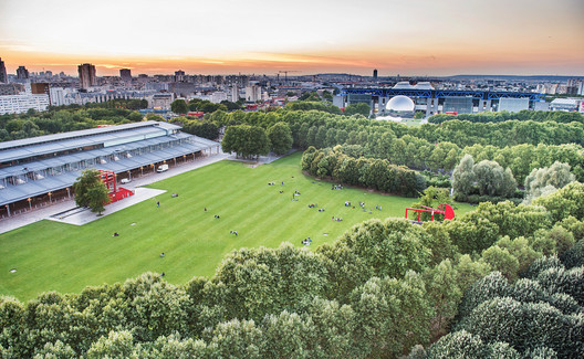 "The Fab City Summit 2018 will be at Parc de La Villette in Paris © William Beaucardet - ""Prairie du Triangle"", via LaVilette.com"
