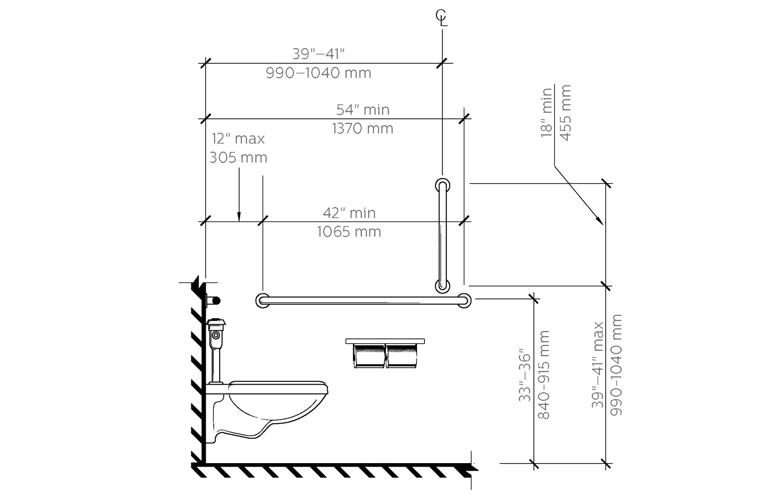 Ada bathroom design layout example of a single guidelines gu.