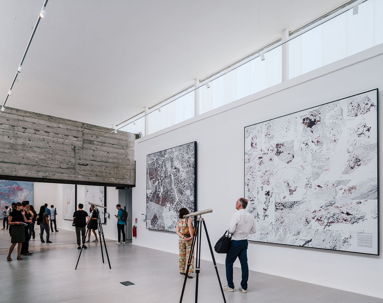 The Cartographies of the Brazilian Pavilion at the Venice Biennale 2018, © Imagen Subliminal