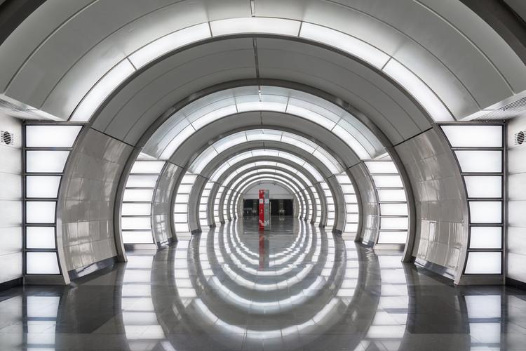 This Public Transit Series Celebrates Moscow's Contemporary Metro Stations , © Alexei Narodizkii for Blue Crow Media