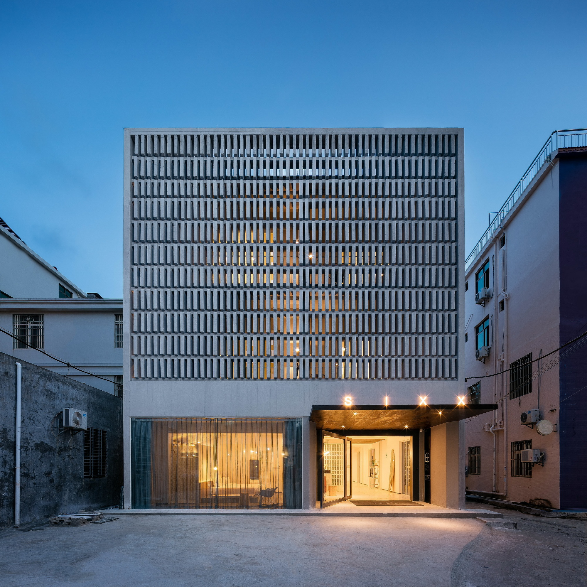 Hotel Exterior Design Architecture Affordable Ideas Modern: Sanya SIXX Hotel / MODULO Architects