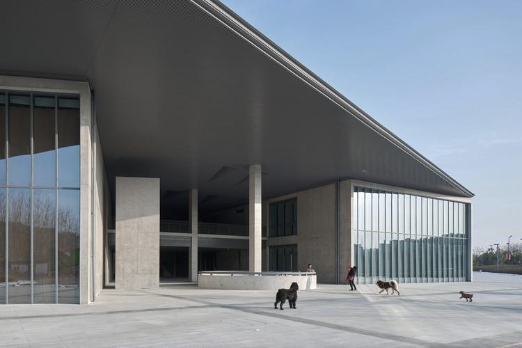 Centro de Artes em Liangzhu de Tadao Ando, pelas lentes de Zheng Shi, © Zheng Shi