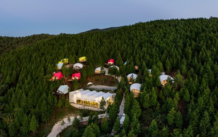 SJCC Glamping Resort  / Atelier Chang, © Kyungsub Shin
