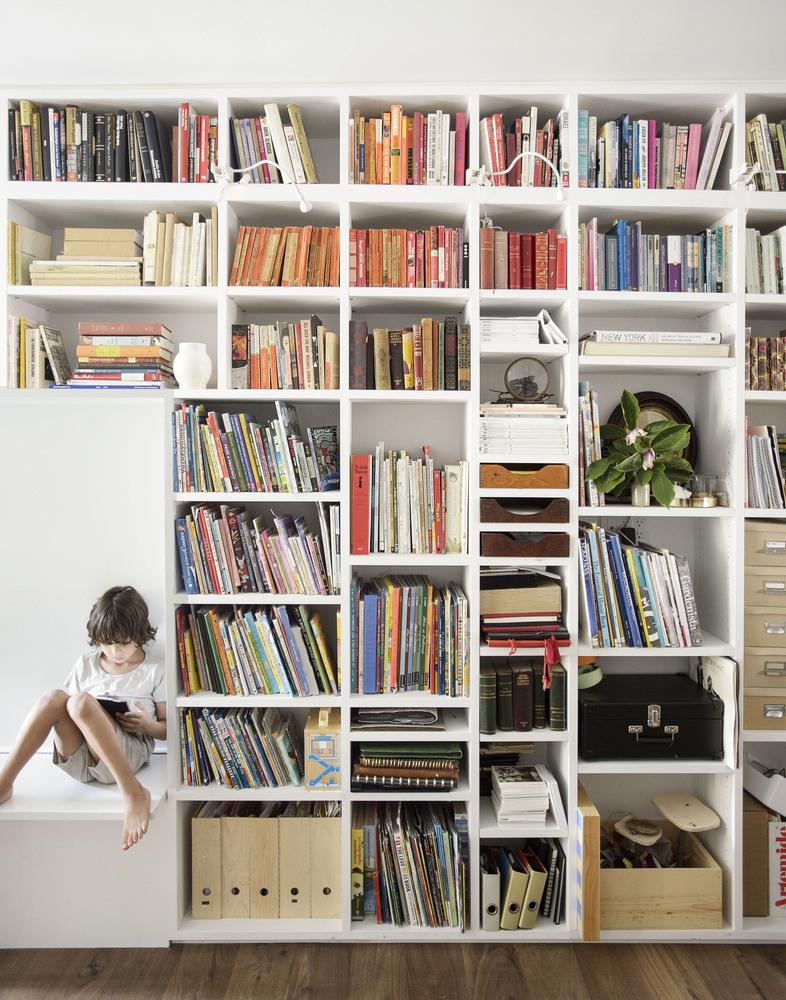 Home Office Library Bookshelves