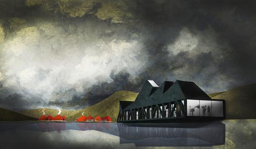 Segundo Año—Mención Honrosa: ARCA / Belén Salvatierra. Image Cortesía de Arquitectura Caliente