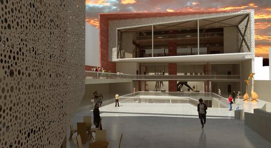 Distinciones—Mención Zona Norte: Centro de Extensión ULS / Elizabeth Pizarro + Jeison Arostica. Image Cortesía de Arquitectura Caliente