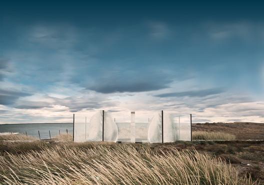 Título—Ganador: Ruta Memorial Selk'nam / Ignacio Lira Montes. Image Cortesía de Arquitectura Caliente