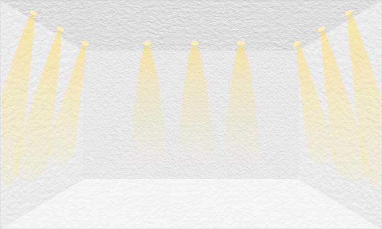 Iluminação de destaque. Image © Matheus Pereira