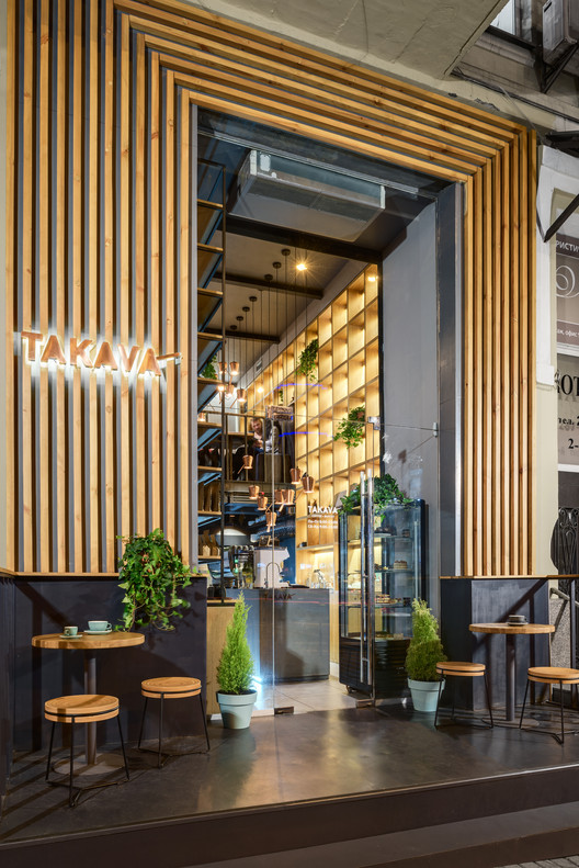 TAKAVA coffee-buffet / YUDIN Design, © Sergey Savchenko