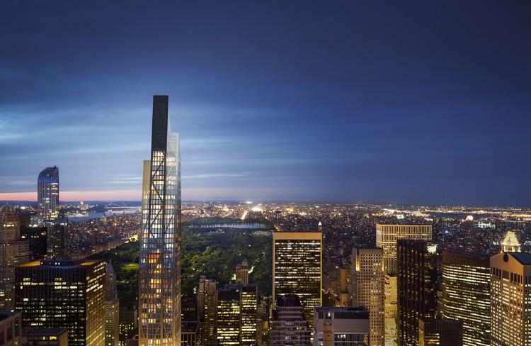 Jean Nouvel prevê como seu arranha-céu 53 West 53rd transformará o icônico horizonte de Manhattan, Cortesia de Hayes Davidson