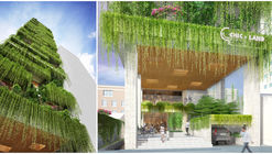 VTN Architects Designs Hotel with Cascading Greenery for Narrow Site in Vietnam