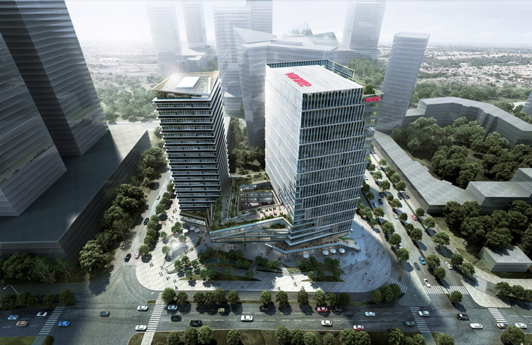 LWK & Partners Releases Design 'Olympic Vanke Centre' Project in China, Courtesy of LWK & Partners (HK)