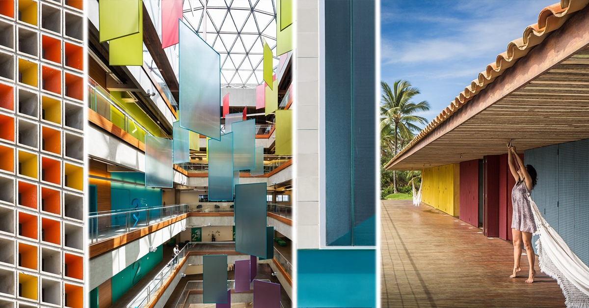 archdaily.com - Victor Delaqua - Colorful Contemporary Brazilian Architecture