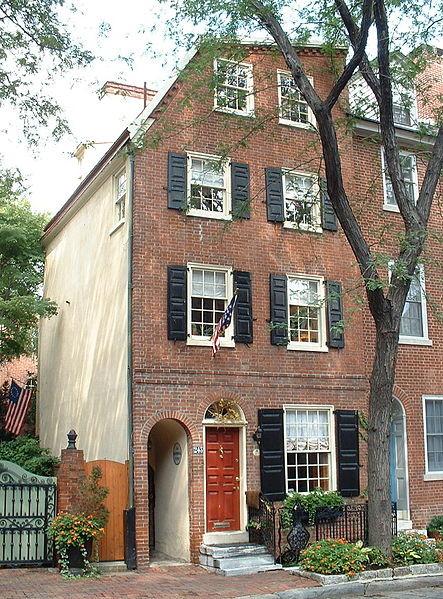 Image <a href='https://commons.wikimedia.org/wiki/File:243_Delancey_Street,_Philadelphia.jpg'>via Wikimedia</a> (public domain)