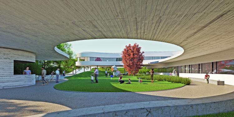 Resultado do concurso para Pólo de Saúde de Carcavelos, em Portugal, Cortesia de ordem dos arquitectos secção regional sul
