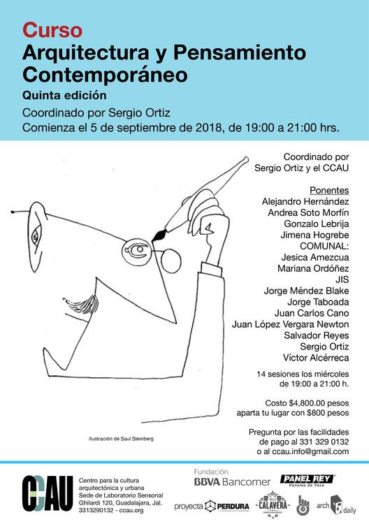 Curso Arquitectura y Pensamiento Contemporáneo , CCAU