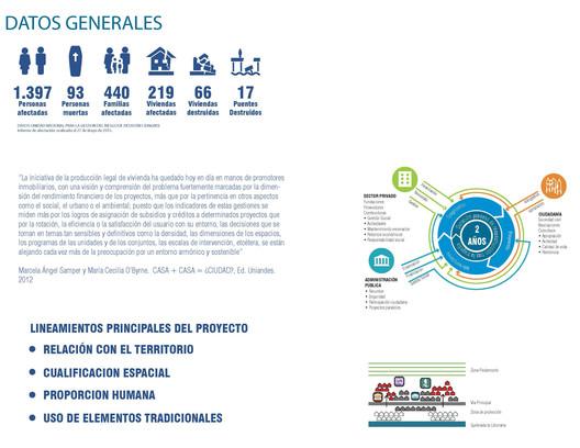 Datos Generales. Image Cortesía de Ana Elvira Vélez + Taller Síntesis Arquitectura