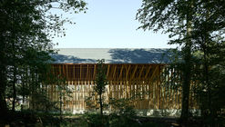 Shed for Firewood / Clou Architekten