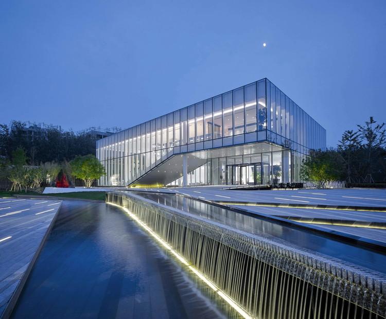 Centro de Exposições Poly Future Metropolitan em Pequim / BIAD, O edifício Image © Chaoying Yang