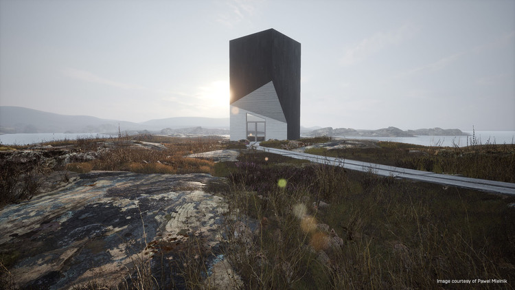 Learning New Design Viz Methods—Is It Worth It?, Tower Studio by Pawel Mielnik, rendered in real time with Unreal Engine