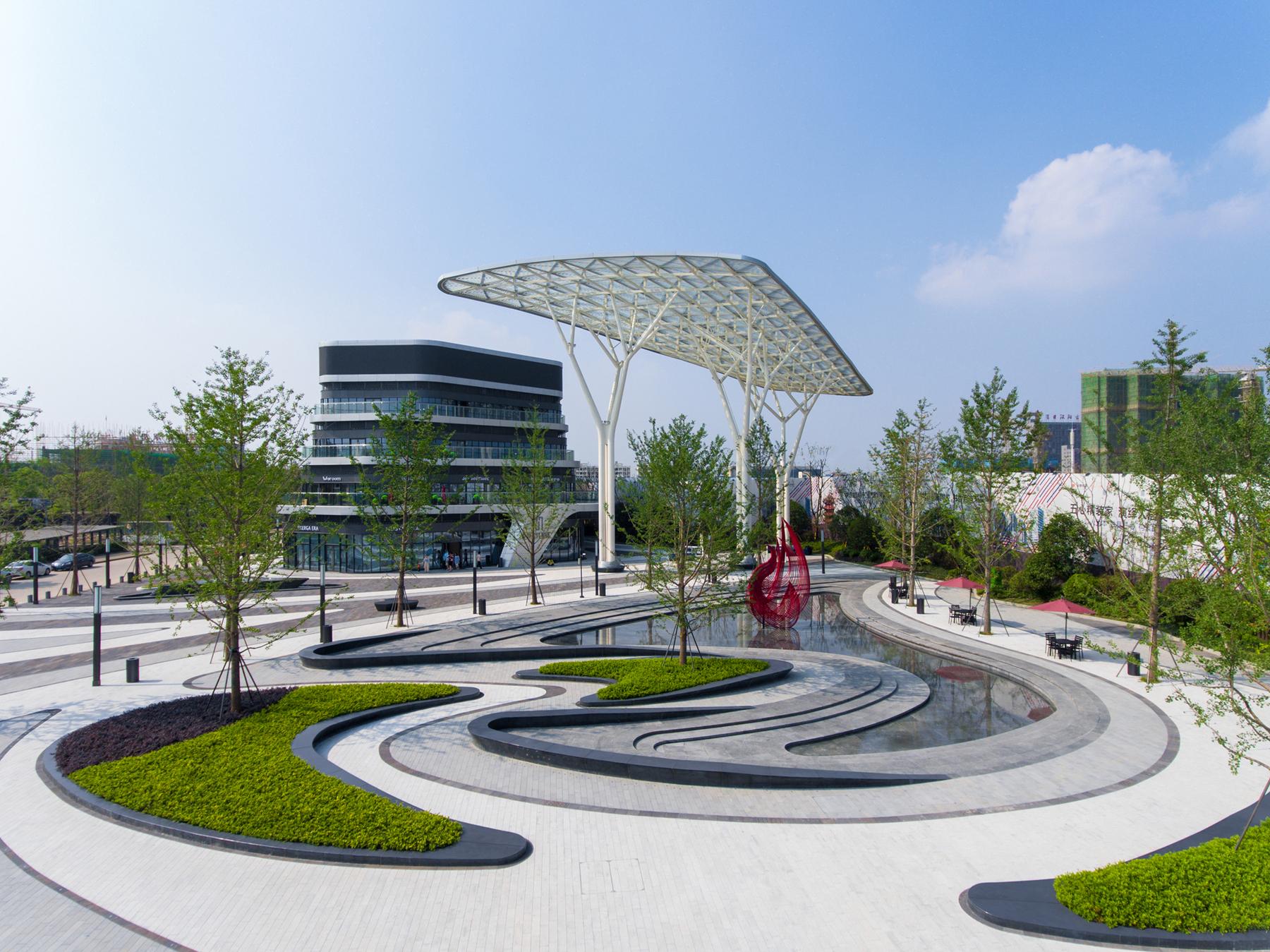 One City development, Gemdale Wuhan / ASPECT Studios