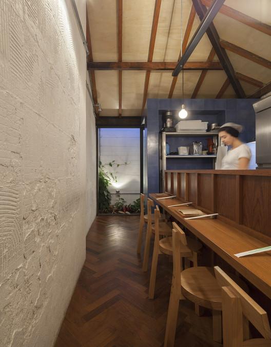Restaurante Mica / Marina Portolano, © Maira Acayaba