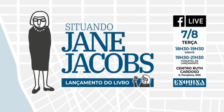 """""""Situando Jane Jacobs"""": debate sobre uma das maiores urbanistas do século XX, Cortesia de Esquina"""