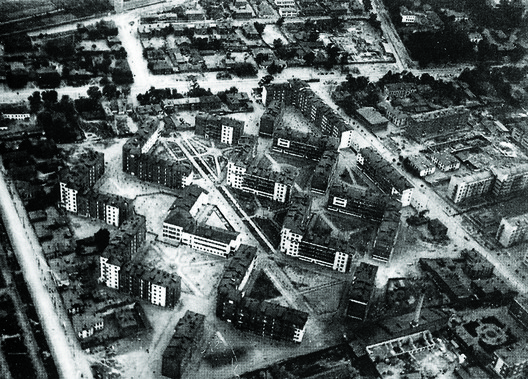 Shabolovka residential district, Moscow, 1929. Image Courtesy of pastvu.ru