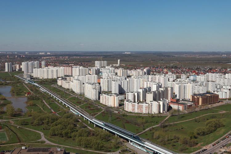 Zonas residenciales de Yuzhnoye Butovo y Severnoye Butovo. Imagen Cortesía de Alexey Mikheev / lori.ru