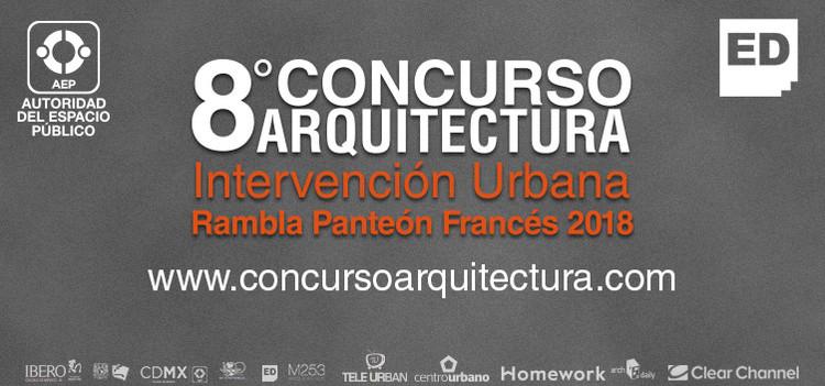 Convocatoria al 8° Concurso de Arquitectura  Intervención Urbana Rambla 2018, Escuela Digital 8 Cocnurso de Arquitectura 2018