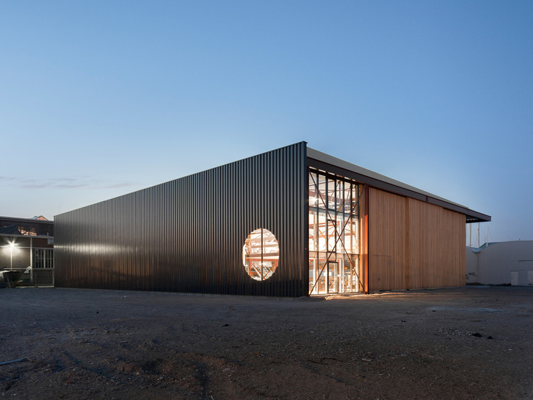 Boat Hangar / BETA office for architecture and the city, © MWA Hart Nibbrig
