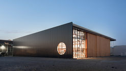 Boat Hangar / BETA office for architecture and the city