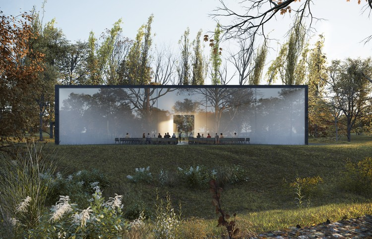 HofmanDujardin Reimagine How We Say Goodbye to Loved Ones with New Funeral Center , Courtesy of VERO Visual