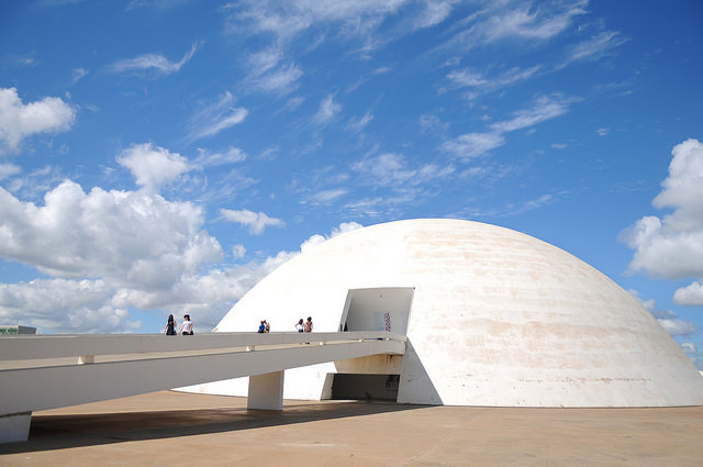 CAU lança livro com comentários sobre o Código de Ética que esclarece questões de conduta profissional, Museu Nacional Honestino Guimarães (Oscar Niemeyer, 2006) em Brasília/DF. Image © Pedro Ventura/Agência Brasília