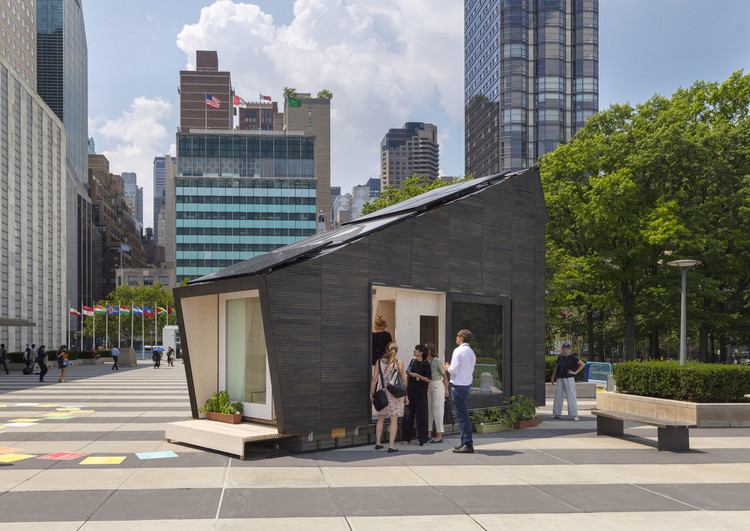 "UN and Yale University Unveil ""Tiny House"" as the Future of Eco-Living, © David Sundberg/Esto"