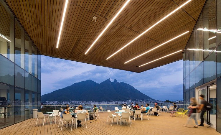 Biblioteca del Tecnológico de Monterrey / Sasaki. Image © Sasaki