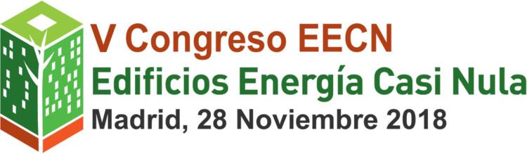V Congreso Edificios Energía Casi Nula, Logo V CONGRESO EDIFICIOS ENERGÍA CASI NULA