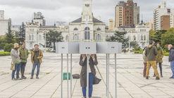 ESTEREO(AUTO)SCOPIO, arte público efímero para percibir el contexto urbano