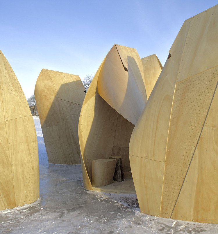 10 Unconventional Plywood Projects That Show The Bright Future of 20th Century Materials, © James Dow