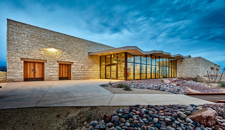 Pecos County Safety Rest Area / Richter Architects, © Craig Blackmon