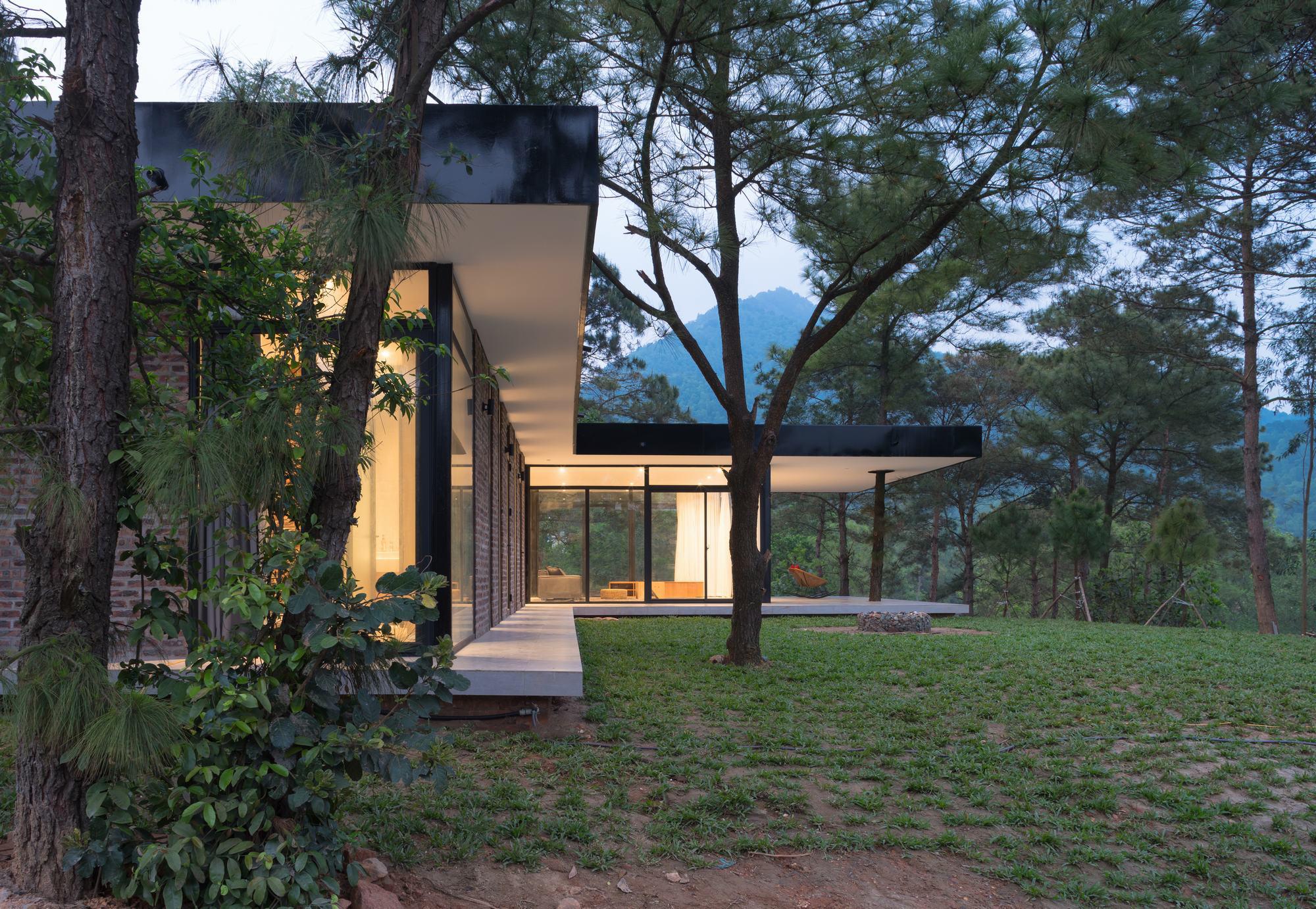 Casa bajo los pinos idee architects plataforma arquitectura - Casa los pinos ...