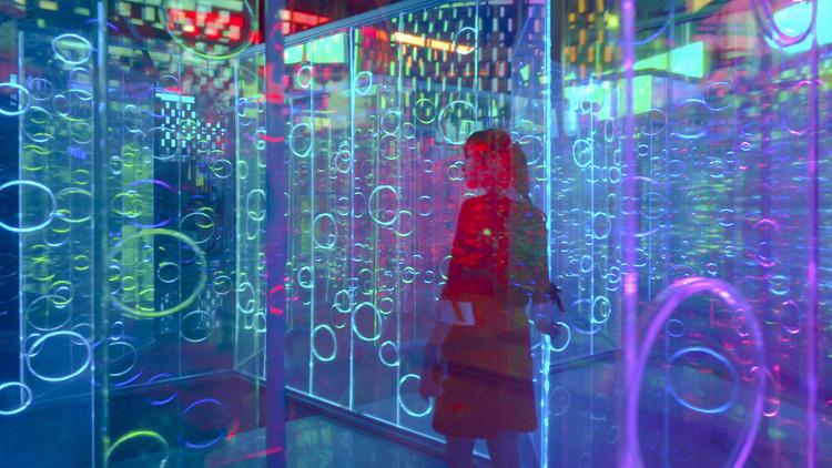 Museus hiperconectados: Como os museus vêm se moldando à tecnologia?, Instalação Yǔzhòu. Image © Imagen Subliminal