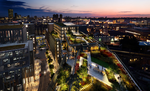 11 and 21 Canal Reach has been granted detailed planning persmission. Image © Bennetts Associates via Kings' Cross