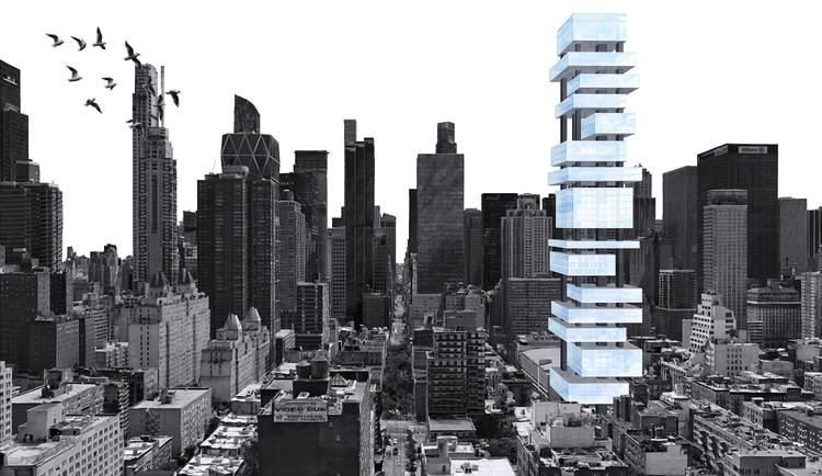 Fragmentos de Nova Iorque: arquitetos brasileiros ganham menção honrosa em concurso internacional , Cortesia de Carol Vasques, Diego Saraiva e Pedro Dal Molin.