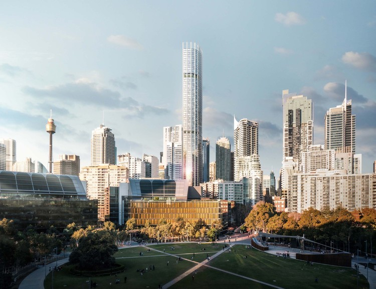Ingenhoven Architects and Architectus Win Competition to Design Sydney's Tallest Residential Skyscraper , Courtesy of Doug and Wolf