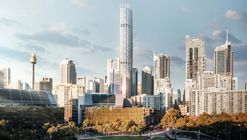 Ingenhoven Architects and Architectus Win Competition to Design Sydney's Tallest Residential Skyscraper