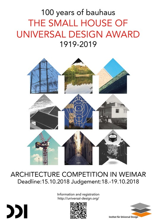 The Small House of Universal Design Award, official poster